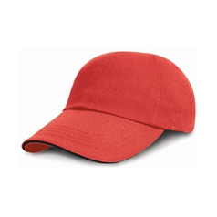 Result Adult's Low Profile Heavy Brushed Cotton Baseball Cap