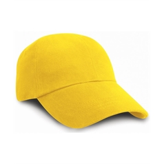 Result Adult's Low Profile Heavy Cotton Pre Curved Baseball Cap