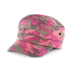 Result Adult's Urban Camo Pre Curved Army Cap