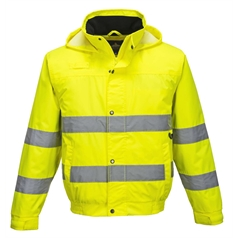 Portwest 150D High Visibility Lite Bomber Jacket