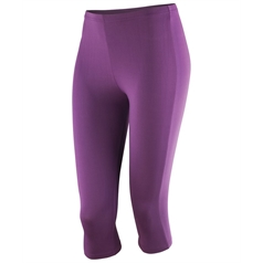 Spiro Women's Softex Super Soft 3/4 Capri Pants