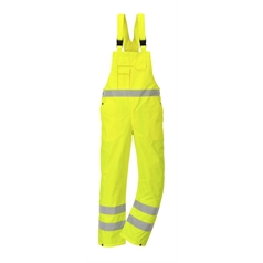 Portwest 300D Breathable High Visibility Bib & Brace