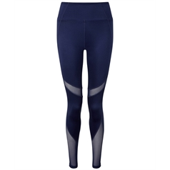 TriDri Women's Full Length Mesh Tech Panel Leggings