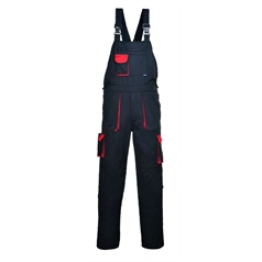 Portwest Texo Cotton Rich Contrast Bib and Brace