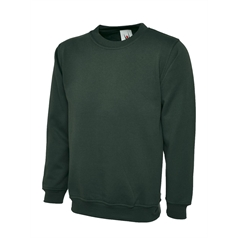 Uneek Clothing Unisex Set in Sleeve Premium Sweatshirt
