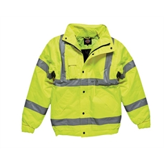 Dickies Men's Hi-Vis Bomber Jacket