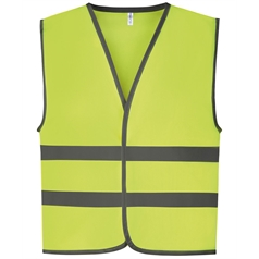 Yoko Children's Reflective Border High Vis Waistcoat HVW102CH