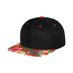 Flexfit by Yupoong Adult's Fashion Print Snapback Cap