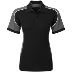 Alexandra Women's Workwear Tungsten Polo Shirt
